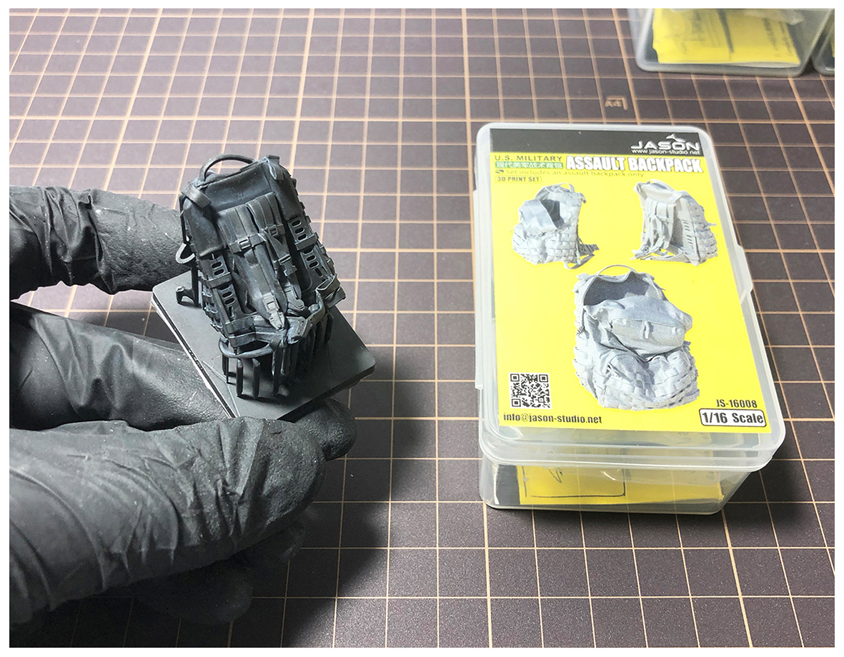 1/16 U.S. Military assault backpack(图1)